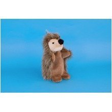 Dowman Hedgehog Hand Puppet Soft Toy 28cm