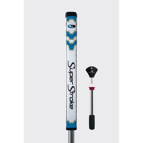 SuperStroke Pistol GT Tour Putter Grip with CounterCore Weight – Blue