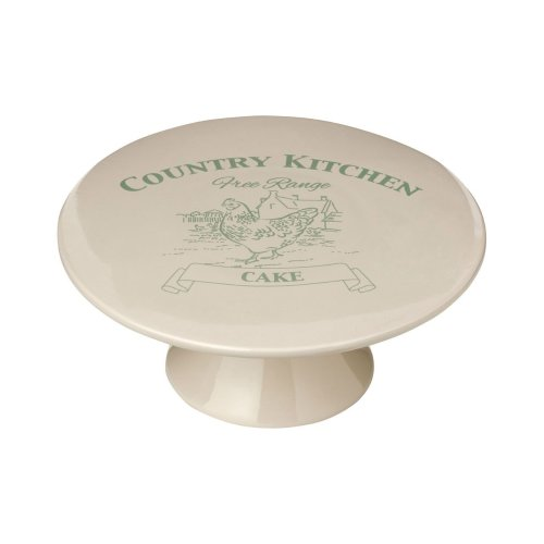 Country Kitchen Cake Stand, Cream