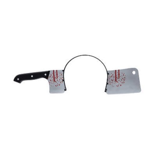 Cleaver Thru Head - Halloween Fancy Dress Accessory Costume Prop Adult Through -  head halloween fancy dress accessory thru costume prop adult
