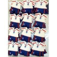48 England Football Kit Erasers
