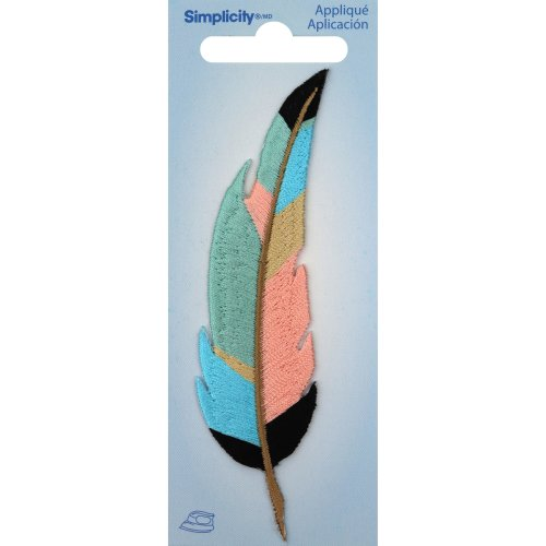 Wrights Iron-On Applique-Feather