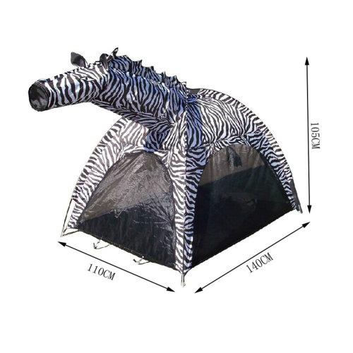 Cute Zebra Kids Play Tents Indoor/Outdoor Play Tent (Under 6 Years Old)