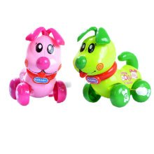 Set of 2 Cute Animals Wind-up Toy for Baby/Toddler/kids, Dog(Color Random)