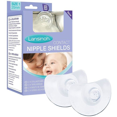 Lansinoh Contact Nipple Shields - 24mm Large