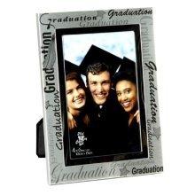 Widdop Juliana Aluminium Photo Frame - Graduation 4x6 Inch - 4 x 6 Photomatt -  graduation photo frame 4 x 6 photomatt silver colour metal finish