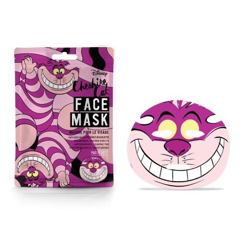 Disney Cheshire Cat Sheet Face Mask By Mad Beauty