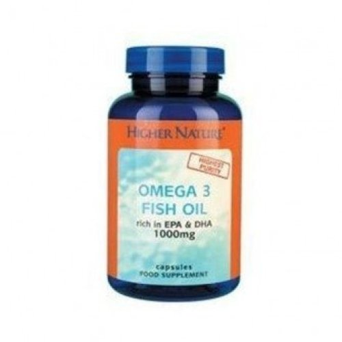 Higher Nature - Fish Oil Omega 3 1000mg 180 capsule