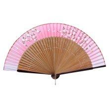 Elegant Hand Fan Portable Folding Fan Carved Handheld Fan Chinese Fans #13