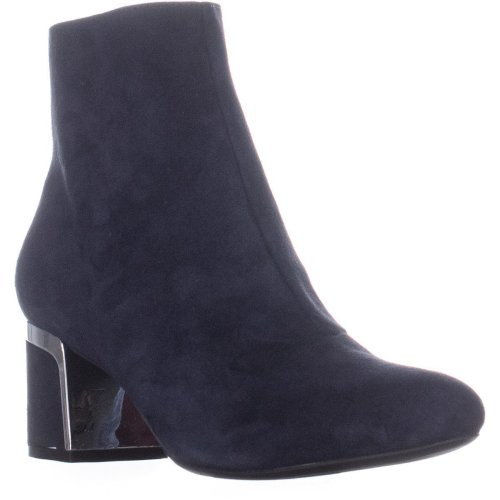 DKNY Corrie Ankle Boots, Blue, 4 UK