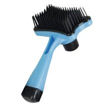 Pet Supplies Cats Dogs Grooming Dematting Tools Massage Combs Brushes-Blue