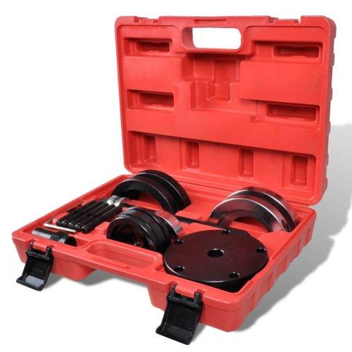 vidaXL Front Wheel Bearing Tool 85mm VW T5 Touareg Suspension Garage Equipment