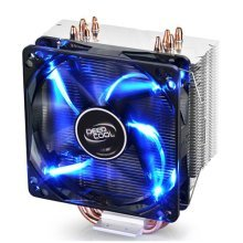 Deepcool Gammaxx 400 Heatsink & Fan, All Intel & AMD Sockets, Fluid-dynamic Bearing, Blue LED