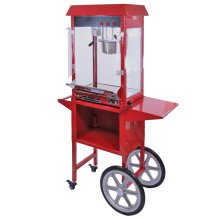 KuKoo Commercial 8oz Popcorn Maker Machine & Cart