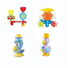 Fun Bath Toys - Waterfalls and Mills for Babies and Toddlers Bath 4 Designs