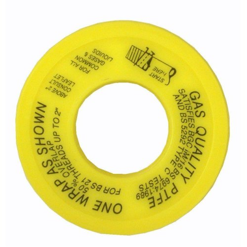 Gas PTFE Thread Seal Tape - 5m x 12mm