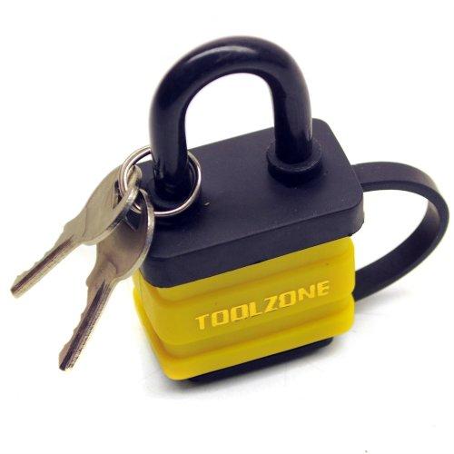 40mm Padlock Laminated Waterproof Security Shed Gate Lock Shackle TE151