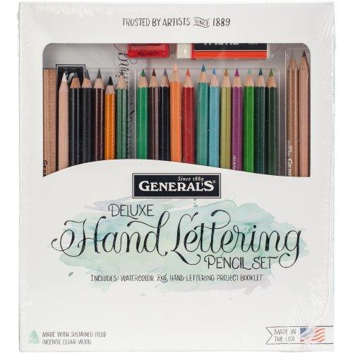 Deluxe Pencil Arts Kit 24/Pkg-