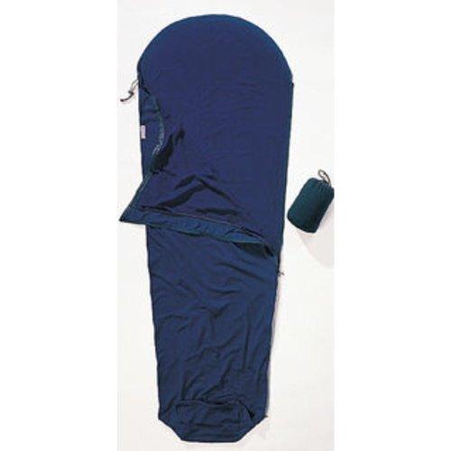 Cocoon Microfleece Mummy Liners Sleeping Bag Right Zip (Dark Petrol)