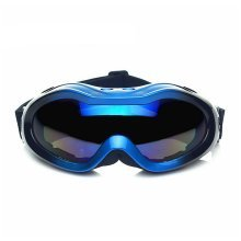 Cool Snowboard Goggles for Kid Ski Goggles Blue Lens