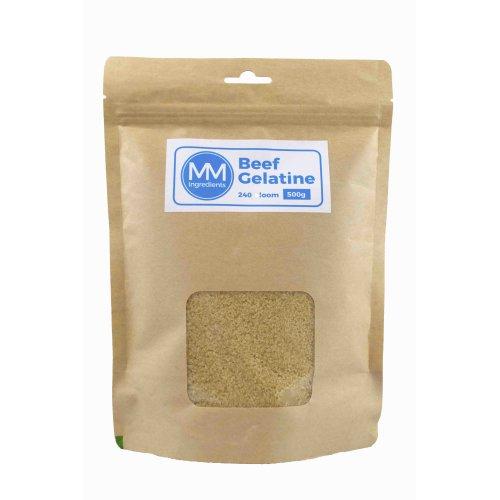 Beef gelatine 500g 240 bloom