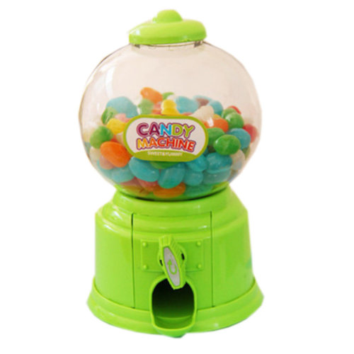 Functional Home Decor Ornament Money Bank Coin Box, Candy Storage Box, Green