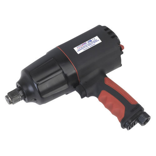 "Sealey GSA6004 3/4""Sq Drive Composite Air Impact Wrench - Twin Hammer"