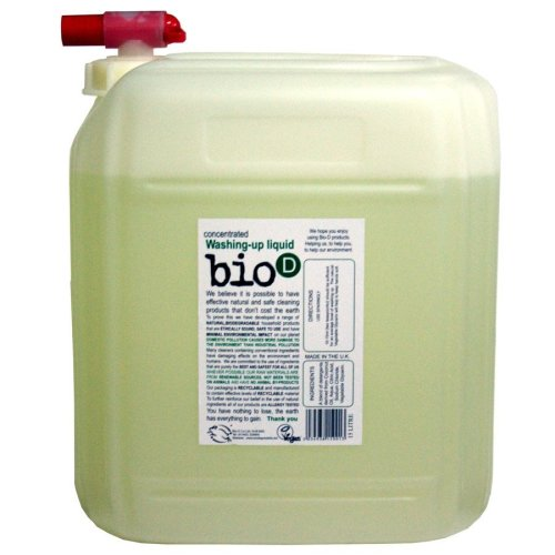 Bio-D Concentrated Washing-Up Liquid - 15L | Eco-Friendly Washing-Up Liquid