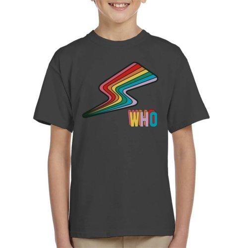 Doctor Who Rainbow Flash Kid's T-Shirt