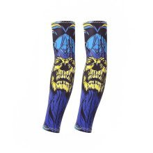 UV Sun Protection Arm Sleeves Breathable Long Sleeves To Cover Arms, Skull (C)