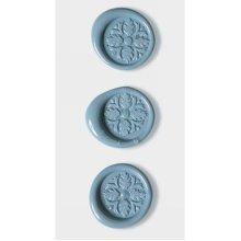Pastel Blue Celtic Cross Wax Seals By Artoz