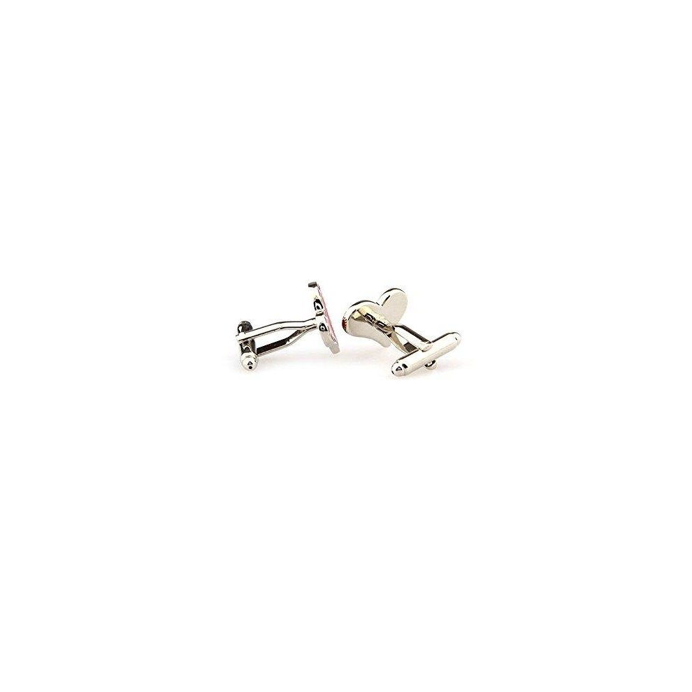 Ashton and Finch Silver Treble Clef Musical Note Cufflinks in a Free Luxury Presentation Box Novelty Music Theme Jewellery