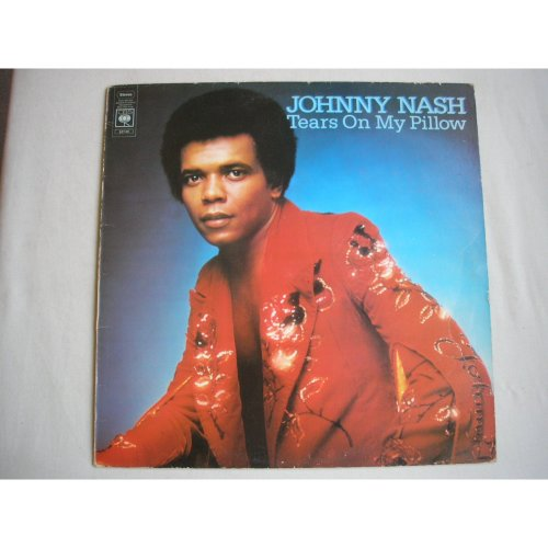 JOHNNY NASH - Tears On My Pillow UK LP 1975 ex+/ex-