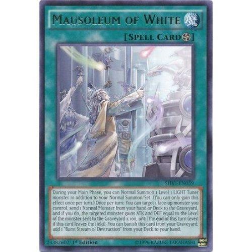 Yu-Gi-Oh! - Mausoleum of White (SHVI-EN059) - Shining Victories - 1st Edition - Rare