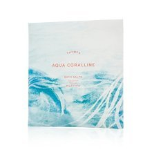 Thymes  Aqua Coralline Bath Salts  Soothing Combination of Epsom and Sea Salt for Relaxing Bath Soak  2 oz