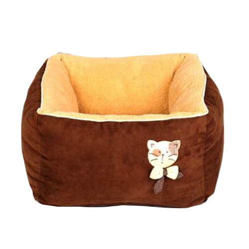 [Square Chocolate] Faddish & Soft Pet Nest,Deep Sleep Cat Bed (45*45*27CM)