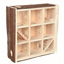 Trixie Natural Living Playing Tower 30x30x10 Centimetres -cm Hamster -  natural tower trixie living playing 30x30x10 centimetres cm hamster