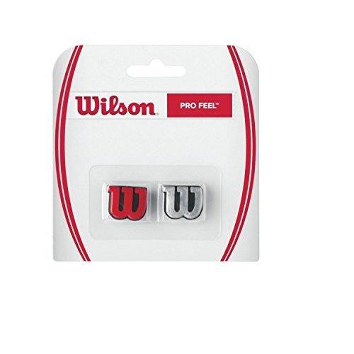 Wilson Pro Feel Tennis Vibration Dampener Red Silver