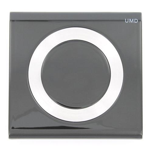 Replacement black UMD disc back door cover for Sony PSP 2000 slim & lite ZedLabz