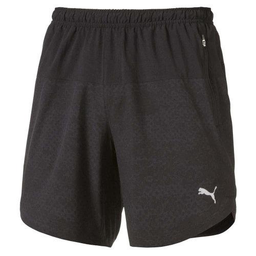 """Puma Pace Mens 7"""" Running Fitness Training Short Black"""