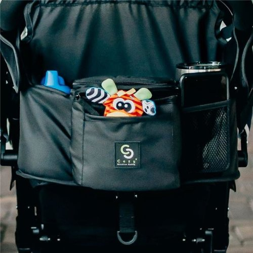 Cozy Cover 2400SC Stroller Caddy Organizer, Black & Insulated