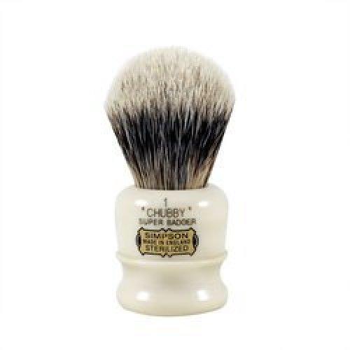 Simpson CH1 Chubby Super Badger Hair Shaving Brush