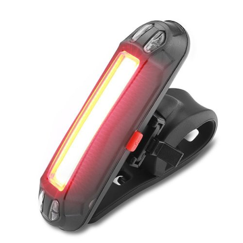 WOTUMEO Bike Tail Light USB Rechargeable Super Bright LED Bicycle Rear Light Easy Install Red Light Taillight Helmet Back Lamp 6 Modes Cycling...