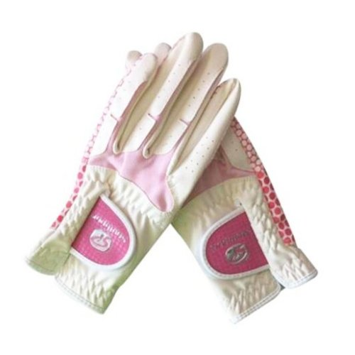 1 Pair Of Female Golf Gloves Non-slip Resistant Dirt Gloves-c