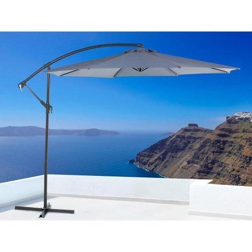 Patio Umbrella - Outdoor Umbrella - Cantilever Umbrella - Anthracite - RAVENNA