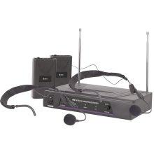 Dual Neckband Microphone VHF Wireless System