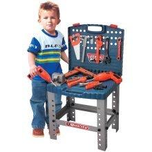 Children Kids Kitchen Cooking Doctor Supermarket BBQ Play Set DIY Tool Set[DIY Bench and Set]
