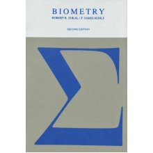 Biometry: Principles and Practice of Statistics in Biological Research