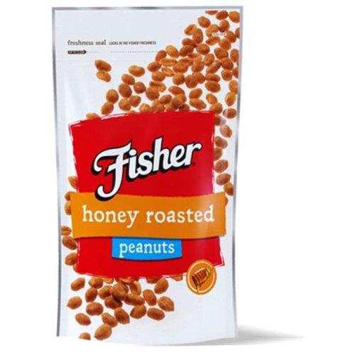 True Value 209878 10 oz Fisher Honey Roasted Peanuts