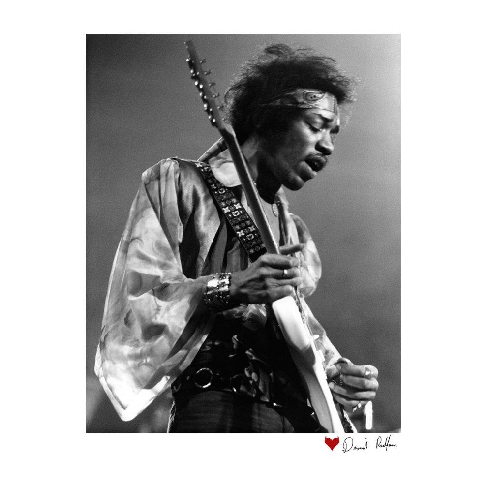 6e605d631 ... David Redfern Official Photography - Jimi Hendrix At The Royal Albert  Hall 1969 Alt White Men's ...